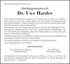 Dr. Uwe Harder