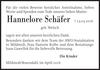 Hannelore Schäfer