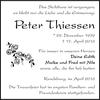 Peter Thiessen
