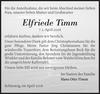 Elfriede Timm