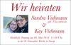 Sandra Viehmann geb. Thiessenhusen und Kay Viehmann