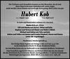Hubert Kob