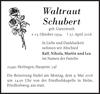 Waltraut Schubert