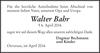 Walter Bahr