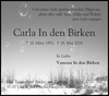 Carla Birken