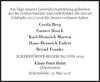 Gerda Gunter BoockKarl-Heinrich MartenHans-Heinrich Eulert Bernd Franke