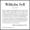 Wilhelm Sell