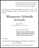Margarete Schmidt Gretel