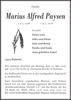 Marius Alfred Paysen