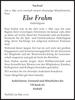 Else Frahm