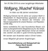 Wolfgang Wuschel Kränzel