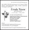 Ursula Nissen