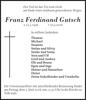 Franz Ferdinand Gutsch