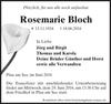 Rosemarie Bloch