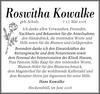 Roswitha Kowalke