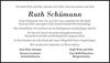 Ruth Schümann