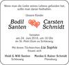 Carsten Schmidt Bodil Santen