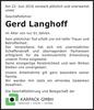 Gerd Langhoff