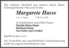 Margarete Hasse