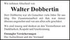 Walter Dobbertin