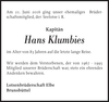 Hans Klumbies