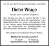 Dieter Wrage