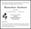 Hannelore Ausborn