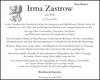 Irma Zastrow geb. Wille