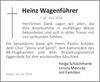 Heinz Wagenführer