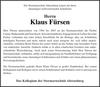 Klaus Fürsen