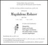 Magdalena Rohwer