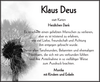 Klaus Deus