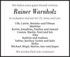 Rainer Warnholz