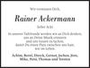 Rainer Ackermann