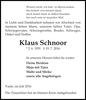 Klaus Schnoor