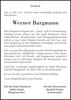 Werner Bargmann