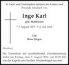 Inge Karl