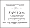 Siegfried Lukas