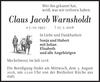 Claus Jacob Warnsholdt