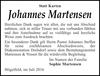 Johannes Martensen