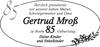 Gertrud Mroß