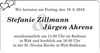 Stefanie Zillmann Jürgen Ahrens