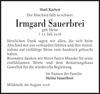 Irmgard Sauerbrei