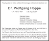 Dr. Wolfgang Hoppe