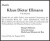 Klaus Dieter Ellmann