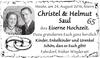 Christel und Helmut Saul