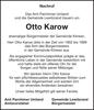 Otto Karow