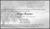 Hugo Rauser