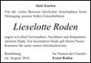 Lieselotte Roden