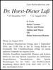 Dr. Horst-Dieter Laß